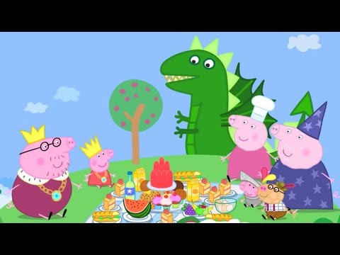 Peppa Pig Episodes - Peppa Loves Food! - Cartoons for Children