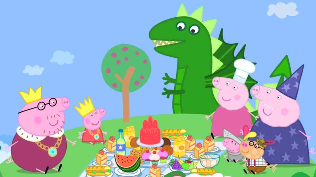 Peppa Pig Official Channel Peppa Pig Loves Food