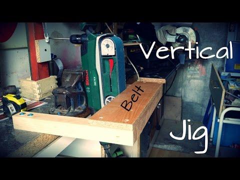 D.I.Y - Vertical Belt Sander Jig