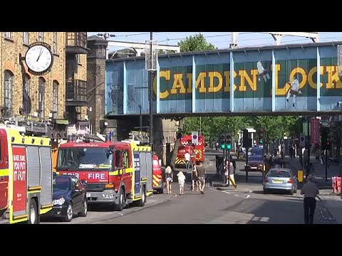 Fire hits London's Camden Market - again