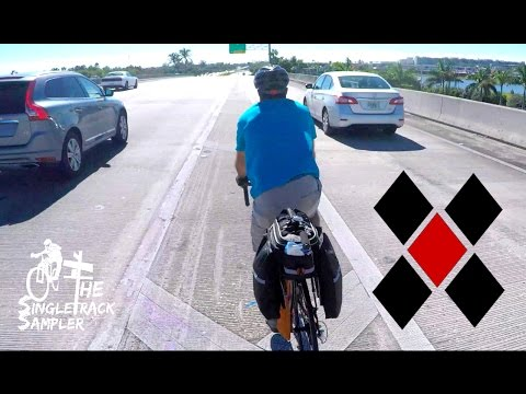 MOST DANGEROUS BIKE RIDE OF MY LIFE - Bike packing the Flori