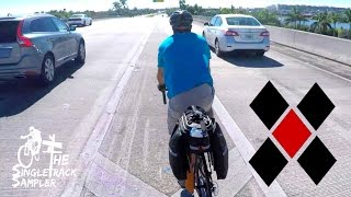 MOST DANGEROUS BIKE RIDE OF MY LIFE - Bike packing the Florida Keys Day 1