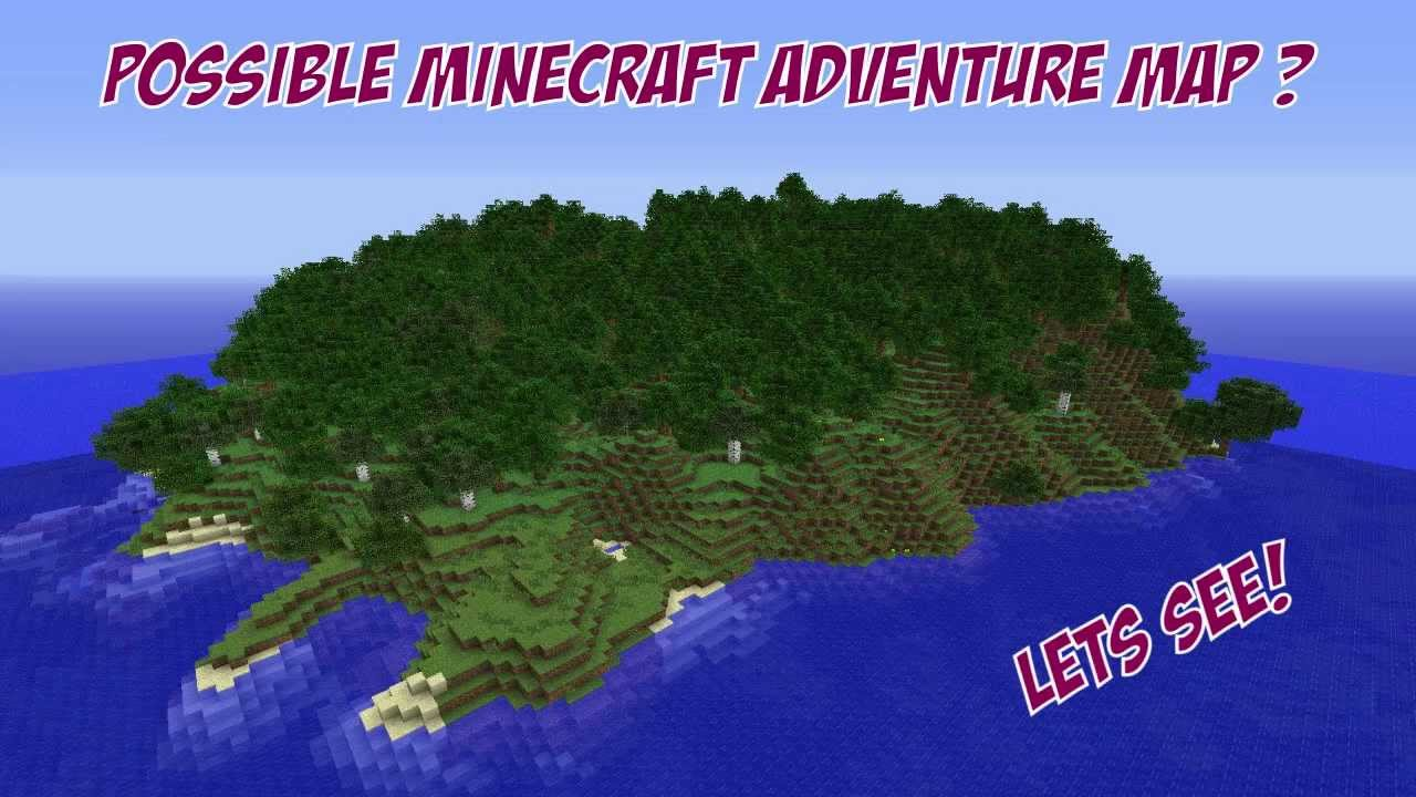 Possible Minecraft Adventure Map Idea - YouTube