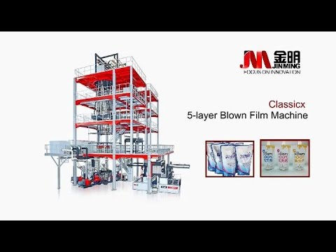 Classicx Blown Film Machine--5 layer 2.8meter(Jinming China)