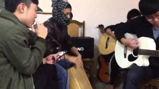 Mắt cười - Cover by CLB Guitar Diện Châu :v