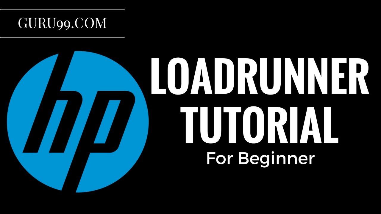 HP/Loadrunner Tool Tutorial for Beginners