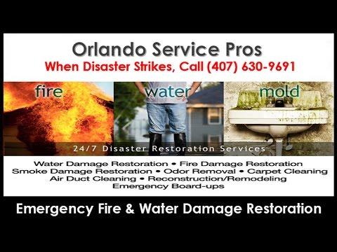 Fire and Water Damage Restoration Oak Ridge FL (407) 630-9691 Fire Damage Repair