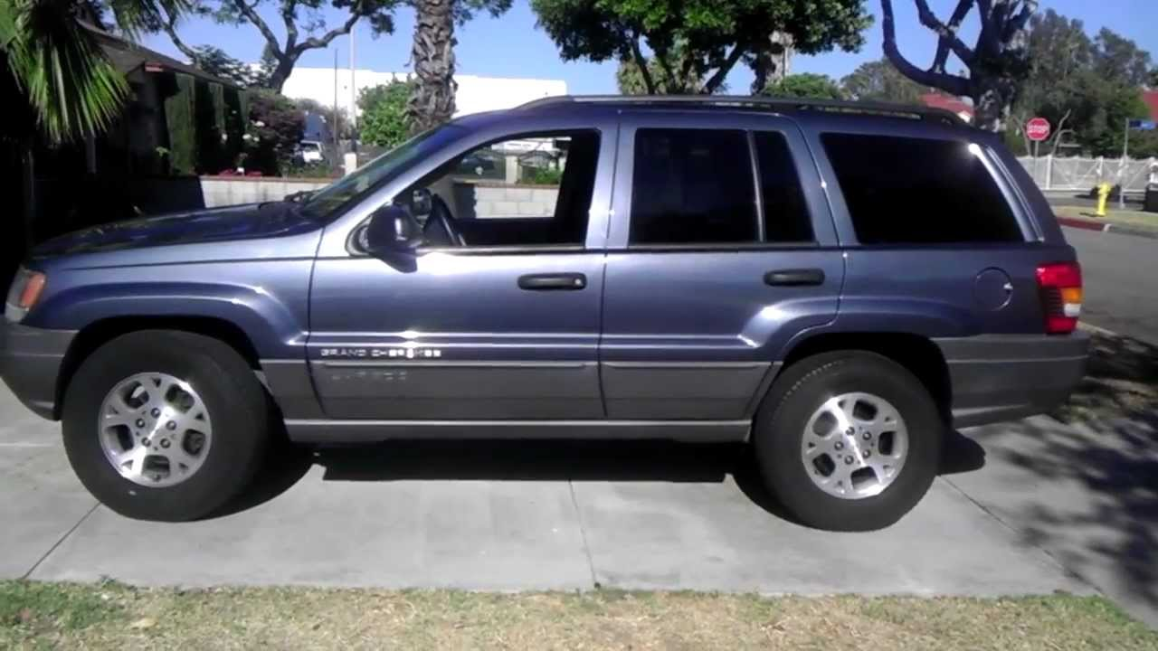JEEP Grand Cherokee Laredo 2002 - YouTube