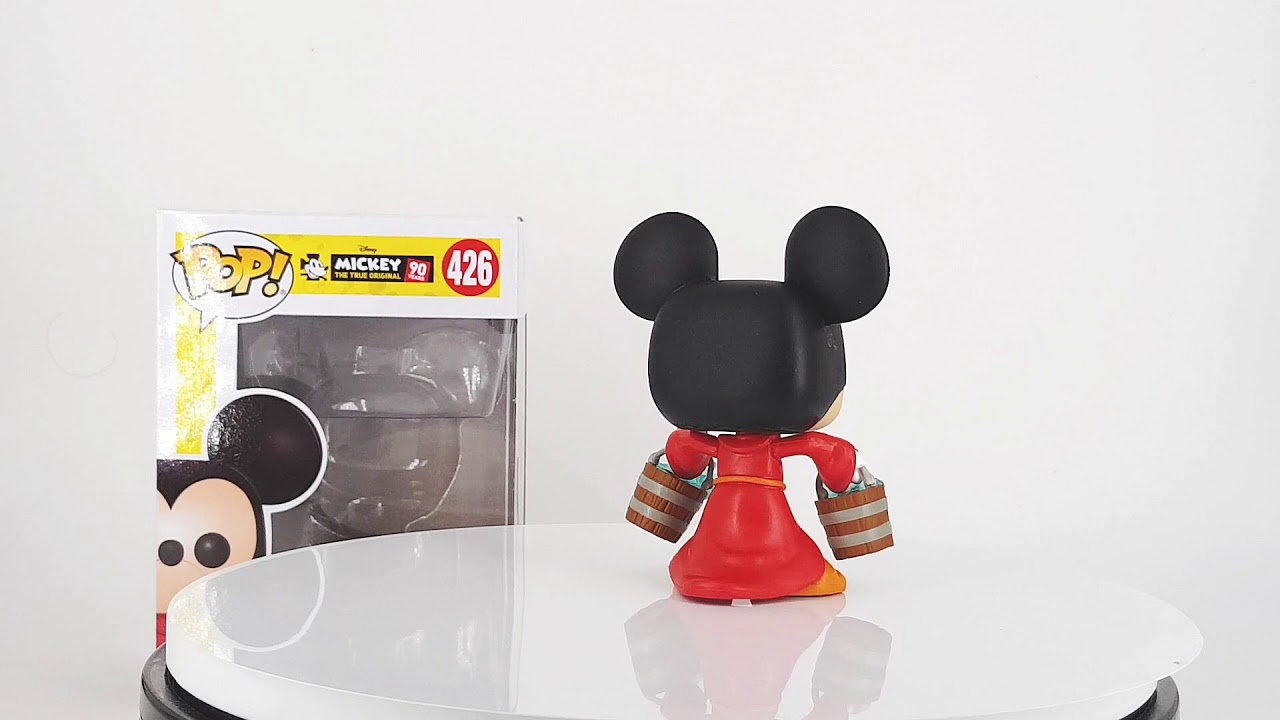 Vinyl Apprentice Mickey Mickey/'s 90th Anniversary Funko POP Disney