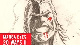 Gambar cover 20 Ways Drawing Manga Eyes Part 2