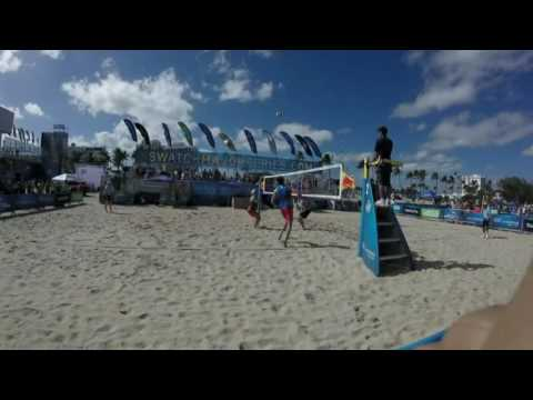 2017 Swatch FIVB World Tour Championship Finals Highlites Reel - Ft lauderdale