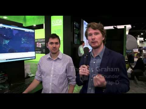 Demo: map-D Visualizes Big Data Fast with GPUs