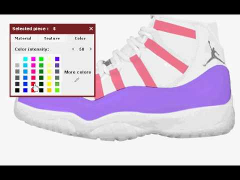 How to create your own Jordans - YouTube