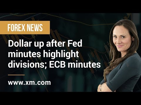 Forex News: 22/08/2019 - Dollar up after Fed minutes highlight divisions; ECB minutes next