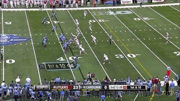 Rutgers vs North Carolina | 2014 ACC Football Highlights