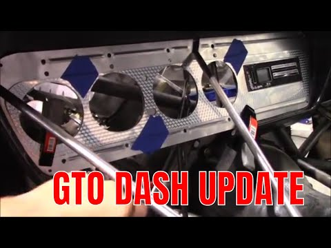 SHEET METAL DASH UPDATE 66 GTO
