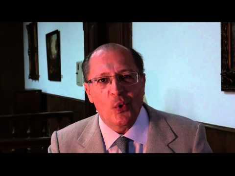 Governador Geraldo Alckmin fala sobre curso de inglês online