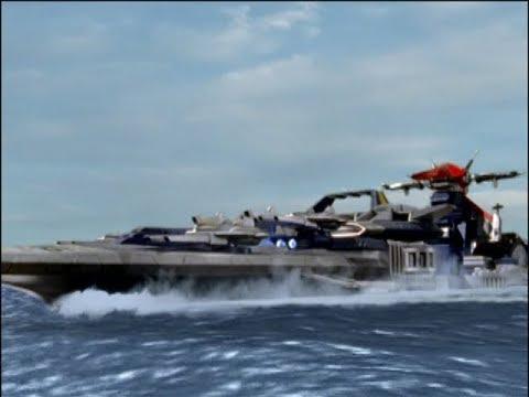 Power Rangers Operation Overdrive - Ronny on Empty - Battlefleet Zords (Episode 23)