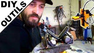 ► Fabriquer un outil de pliage pour fer plat ou autre