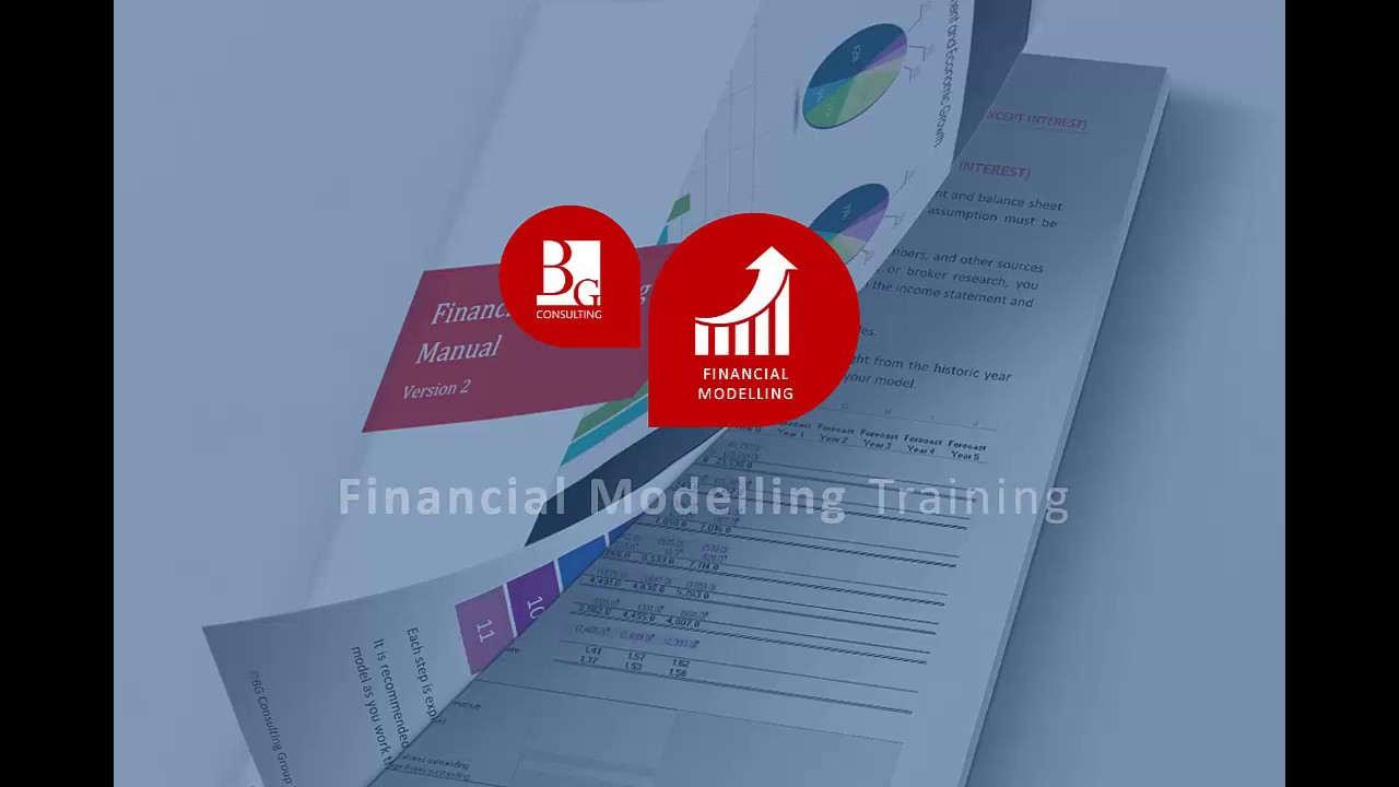 BG Consulting Financial Modelling Training
