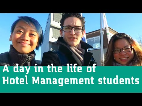 A Day in the Life of a Hotel Management Student - Studying in Holland