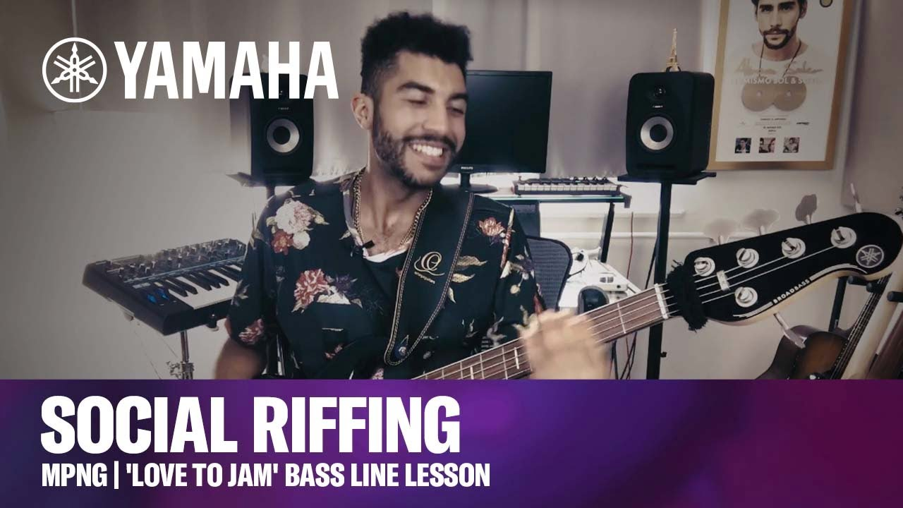 Social Riffing with MPNG | 'Love To Jam' Bass Line Lesson