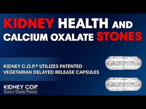 Kidney C.O.P. Delivered in Specialized Vegetarian Delayed Release Capsule