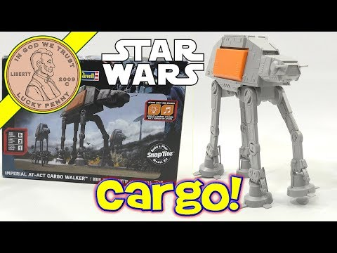 Revell Star Wars AT ACT Cargo Walker Snap Together Model Kit