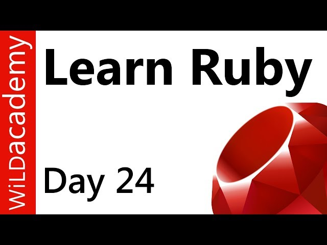 Ruby Programming - 24 - CRUD Part 2 of 2