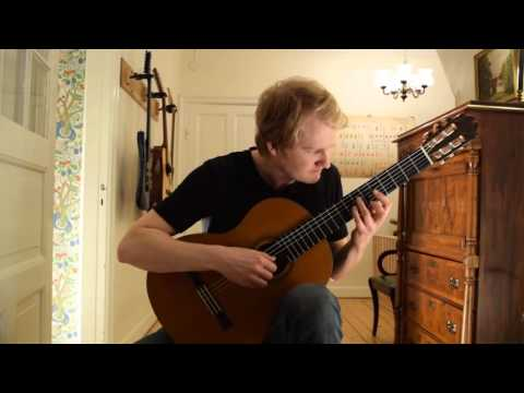 Jose Ferrer  Ejercicio in Eminor Acoustic Classical Guitar Cover by Jonas Lefvert