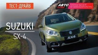 Тест-драйв - Suzuki SX4 2014 (Наши тесты) - АВТО ПЛЮС
