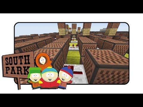 South Park Theme  Minecraft Xbox NoteBlock Song