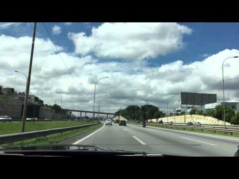 Fast BMW M4 ride in Brazil