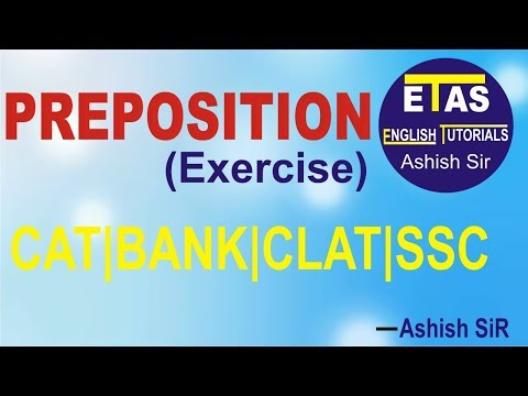 Preposition best explanation by Ashish SiR