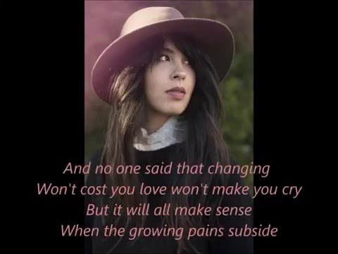Growing Pains - Maria Mena (Lyrics)
