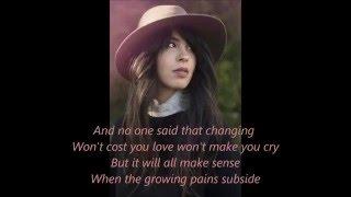 Growing Pains - Maria Mena (Lyrics)