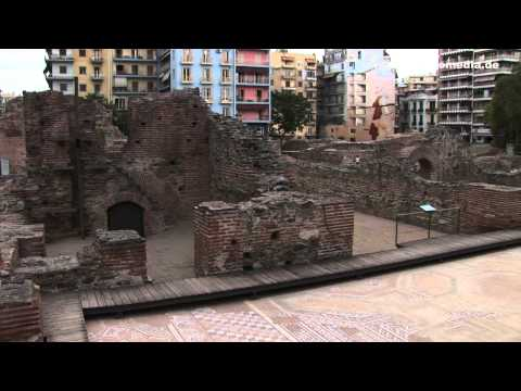 Thessaloniki, Roman imperial palace - Greece, Griechenland HD  Travel Channel