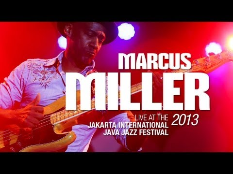 Marcus Miller Live at Java Jazz Festival 2013