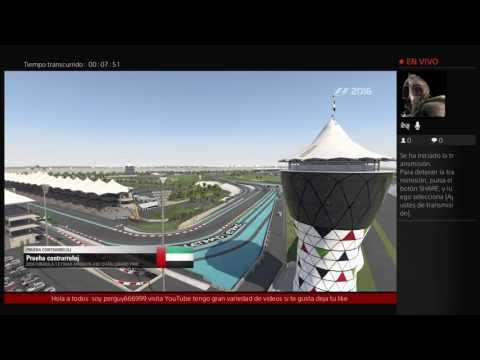 Fórmula 1 [ 2016 contrarreloj circuitos varios]