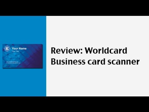 App review worldcard mobile app a business card reader and scanner app review worldcard mobile app a business card reader and scanner reheart Gallery