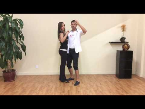 Bachata Body Movement Dance Lesson 3: Creating a dance frame