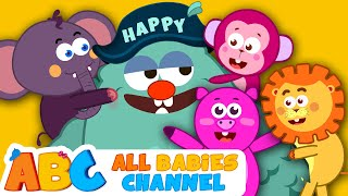 If You're Happy And You Know It   Nursery Rhymes Songs   Kids Songs   All Babies Channel