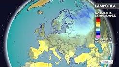 Kuukausiennuste lämpötiloista 25.4.2017: Yhä tavanomaista kylmempää säätä