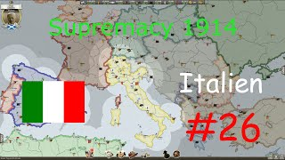 Supremacy 1914 #26 (deutsch) - Italien (Europakarte)
