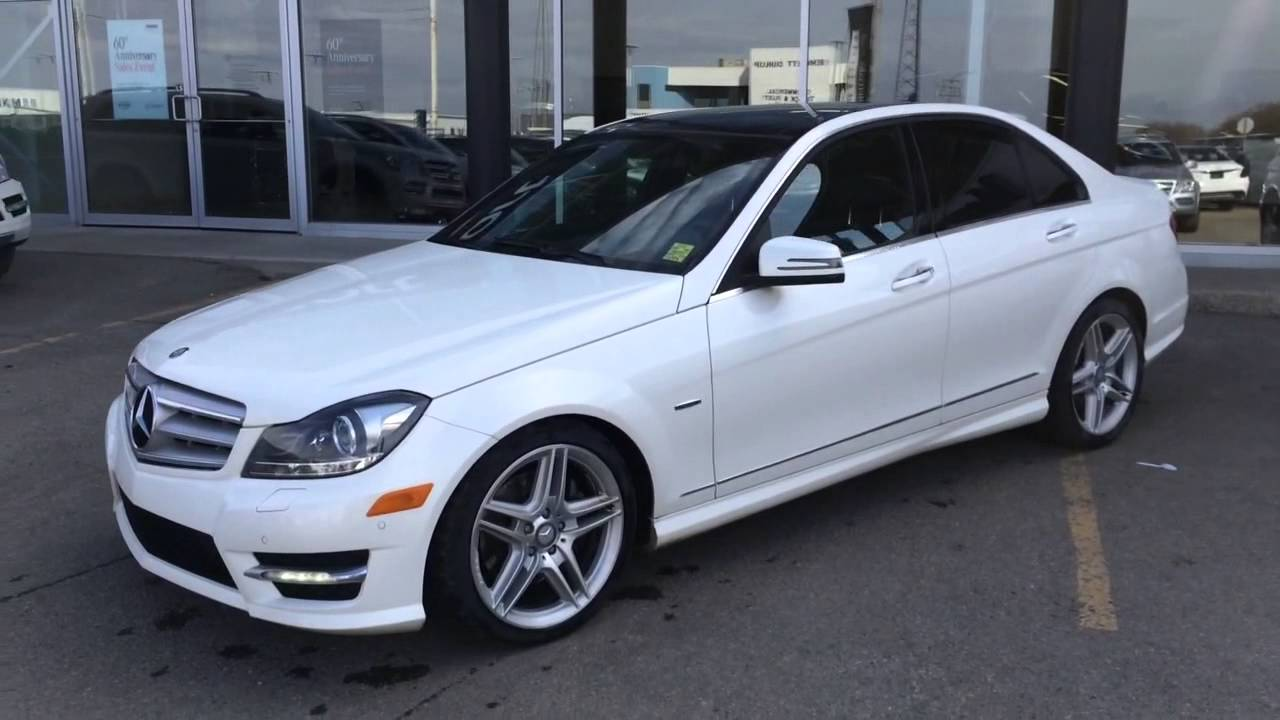 2012 mercedes benz c350 4matic youtube