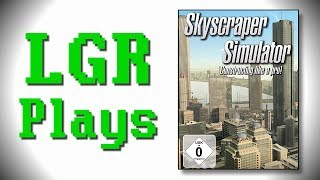 LGR Plays - Skyscraper Simulator--ARGH WTF IS THAT NOISE?!