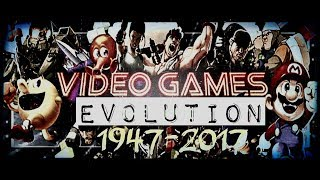 Evolution of Video Game Graphics 1947-2017
