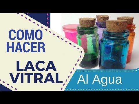 Como Hacer tu Propia Laca Vitral al Agua