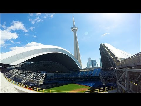 Rogers Centre Roof Opening