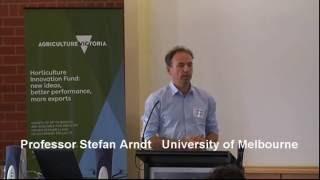 Professor Stefan Arndt on Innovationsment of sugars in plant tissues